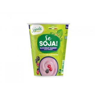 BIO Sojajoghurt Cassis Cranberry