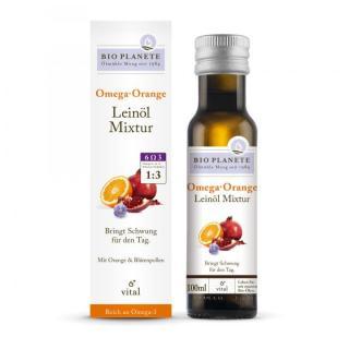 BIO Leinöl Mixtur Omega Orange