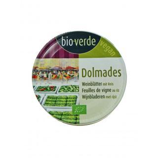 BIO Dolmades, Weinblätter mit Reis