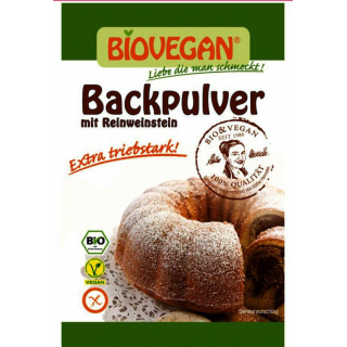 Backpulver vegan  kbA