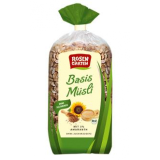 BASIS-MÜSLI mit Amaranth