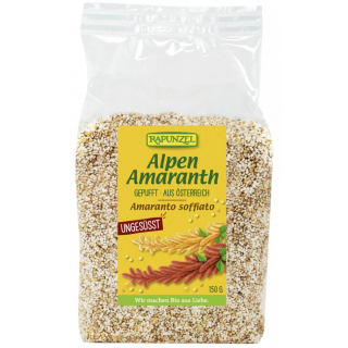 BIO Alpen Amaranth gepufft