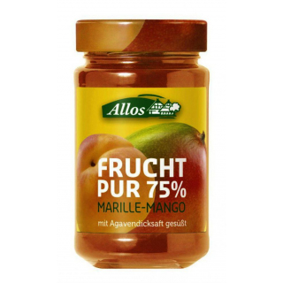 BIO Frucht Pur 75%  Marille-Mango