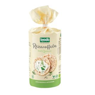 BIO Reiswaffeln mit Quinoa