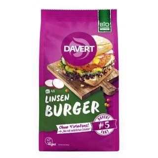 BIO Linsen Burger