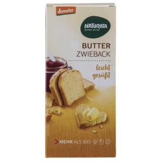 BIO Butter Zwieback leicht gesüsst