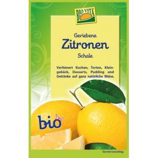 Zitronenschale gerieben   bio