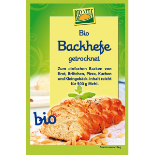 Backhefe getrocknet   bio