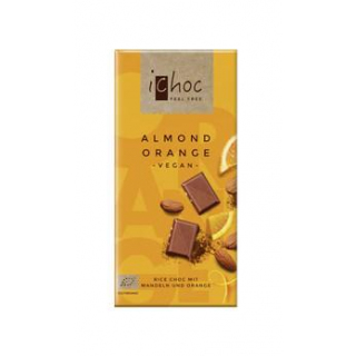 BIO iChoc Almond Orange
