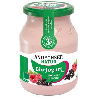 BIO Joghurt Himbeer Holunder
