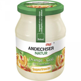 Jogurt Orange Goji   kbA