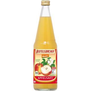 Demeter Apfelsaft naturtrüb, 0,7l Flasche
