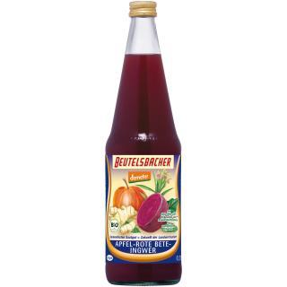 Apfel-Rote Bete-Ingwer-Saft demeter