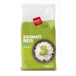 BIO Basmati Reis weiß