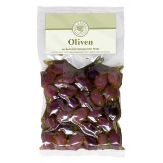 Oliven Kalamata marin. o.Stein