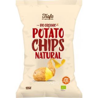 Bio Kartoffel Chips gesalzen