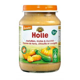 BIO Zucchini & Kürbis mit Kartoffel