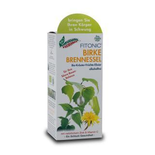 Birken Brennessel Kräuter-Früchte-Elixier 99,96% bio