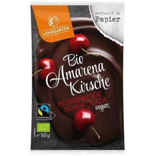 BIO Amarenakirsche in Zartbitter Schokolade