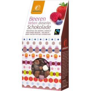 Beeren lieben dreierlei Schokolade kbA