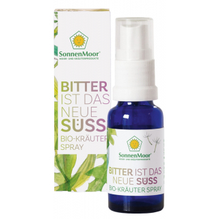 BIO Bitter ist das neue Süß Kräuterspray bio