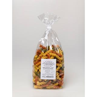 Bunte Spiralen Durum-Weizen hell ohne Ei  kbA