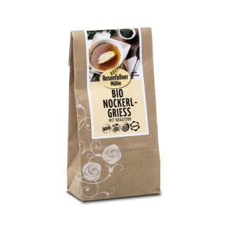 BIO Nockerlgriess mit Kräuter